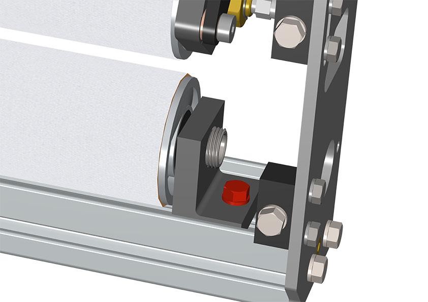 bolt on lower roller carrier bracket