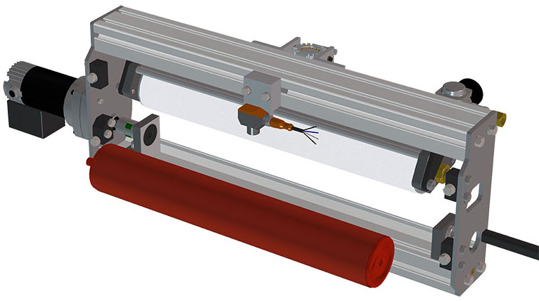 remove lower roller